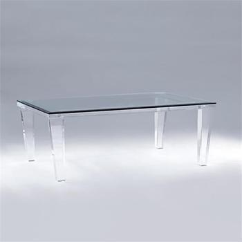lucite acrylic furniture. Modern Meja Belajar Transparan Lucite Acrylic Furniture Rumah Portabel Teh