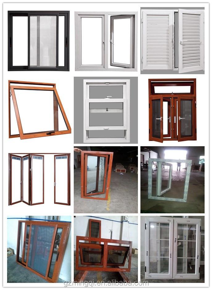 diseo bonito marco de aluminio ventanas con color verde cristal
