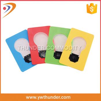 Hot Sale Promotional Led Light Bulb Card