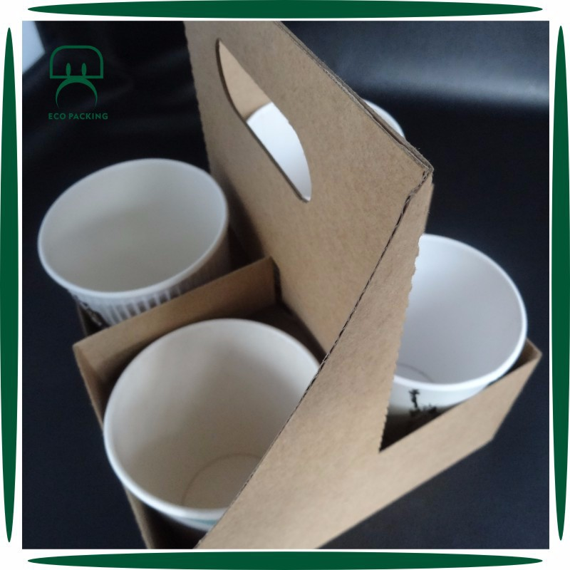 Hot 4 Pack Coffee Cup Carrier Product On Alibaba