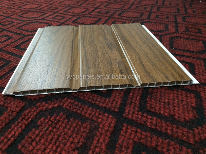Waterproof Interior Wall Ceiling Tiles 30cm Width Panels Decorative Wood  Paneling For Walls