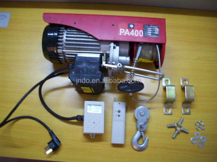 Paranco elettrico con telecomando distanza pannelli for Paranco elettrico telecomando senza fili