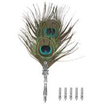 Канцелярские принадлежности, набор перьевых ручек, классическое винтажное перо, авторучка для каллиграфического Quill Dip Pen, подарочные ручки ...(Китай)