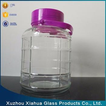2L-20L Glass Large Food Storage Jars with Plastic Lid & 2l-20l Glass Large Food Storage Jars With Plastic Lid - Buy Storage ...