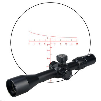 OEM canislatrans military tactical opitcal rifle scope air 4-16x44SFIRF riflescope for hunting