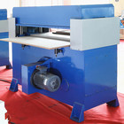 4 column hydraulic clothes adhesive tape big foam bopp film chappal cheap gasket beam press cutting machine