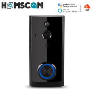 Homscam Wireless Video Doorbell Smart Security WIFI Door Bell Ring Camera