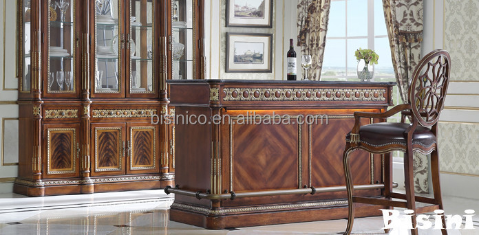 Retro Furniture Bar Counter Desk With Bar Stool,Replica Windsor ...