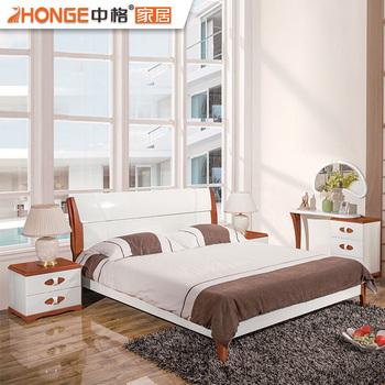Foshan Moderne Holz Glänzende Weiße Mdf Haus Phantasie Schlafzimmer ...