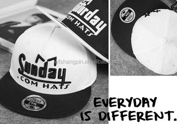 Cheap Plain Two Tone Snapback Hats Bulk Custom Flat Bill Snapback Hats d3e7e311659