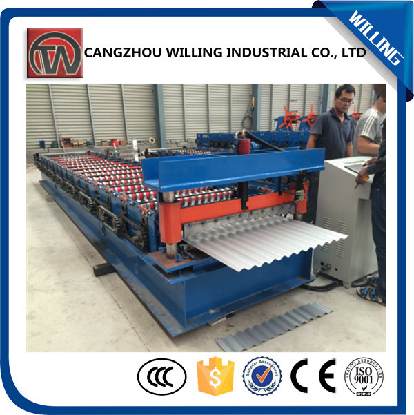 roofing tile making machine