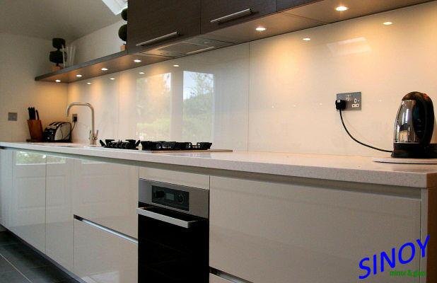 ral 9010 weichen r ckseite wei lackiertem glas wei milchglas 9010 glas wei lackiert f r. Black Bedroom Furniture Sets. Home Design Ideas