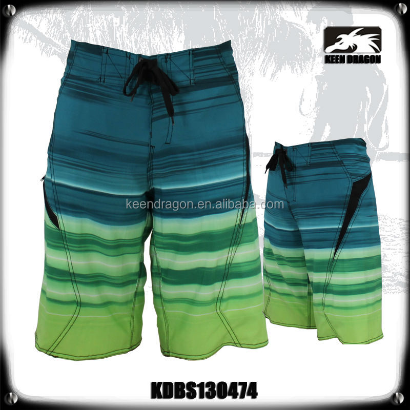 Watersports Shorts Mens Surfing Apparel 4 Way Stretch Swimsuit