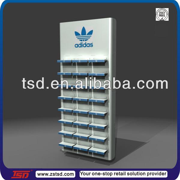 Tsd-m510 Custom Sports Shop Pos Metal Display Rack For Shoes,Shoes ...
