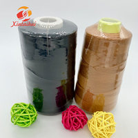 best supplier 42s/2/3 3000/5000 METERS CONE spun polyester yanr for sewing thread