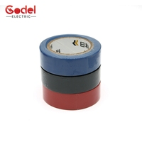 Hot selling made in China 0.15mm pvc colored electrical insulation tape