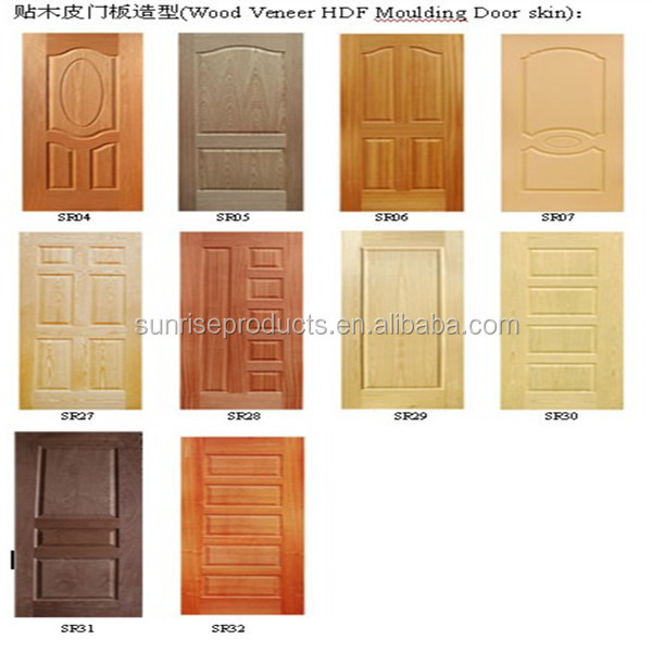 Okoume veneer plywood doors design cheap price buy for Plywood door design