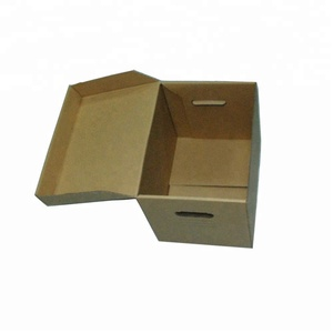 HOT SALE ARCHIVE STORAGE PAPER BOX BROWN KRAFT PAPER DOCUMENT PACKAGING CARTON BOX