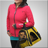 Soft-sided Large Pet Carrier Up can carried by 3 ways