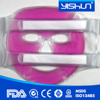 masque facial froid