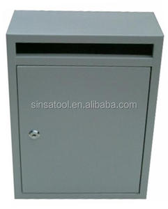 Grade one design metal mailbox for letters