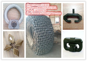 Snow Chain used for forklift tyre26 5-25,29 5-25,35/65-33/snow tire  chain/chain/heavy equipment tyre chain