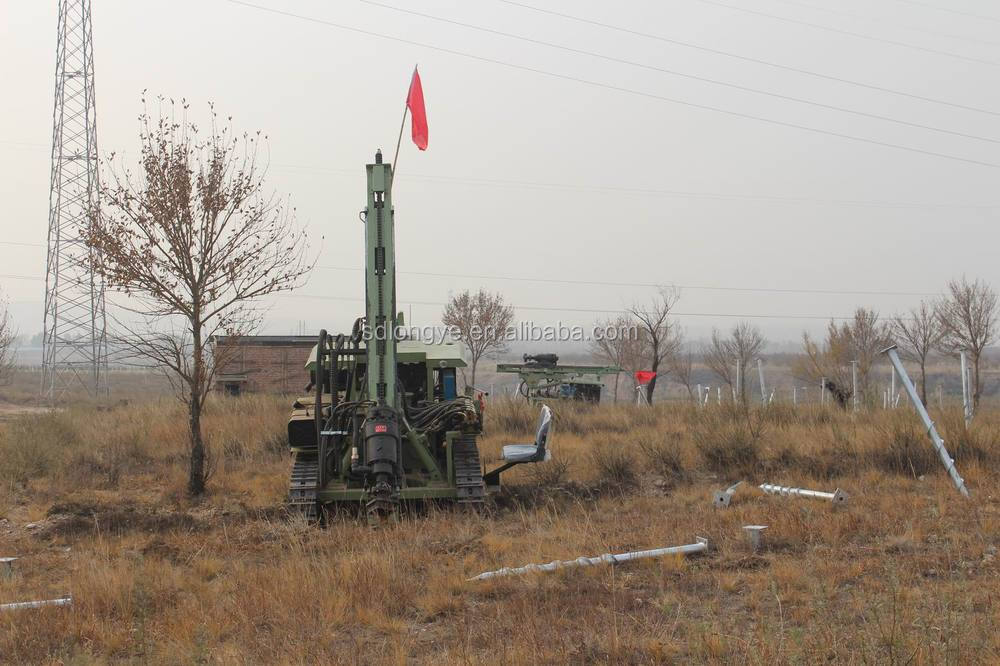 soil nail drilling rig and DTH hammer drilling MZ130Y-2 manufacturer