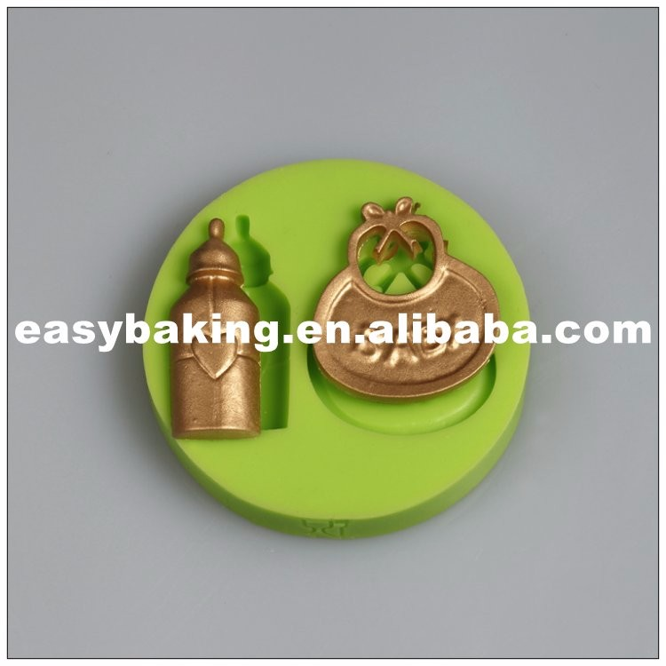 es-8410_Bottle Baby Bib Handicraft Candy Silicone Mold For Fondant Cake Decorating_9599.jpg