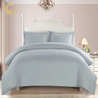100% Polyester Linen Duvet Cover Set Bedding Sheet Set
