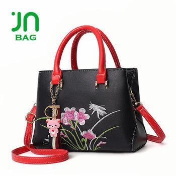 cdda5cbeac8c JIANUO embroidery cheap woman bag handbags wholesale china woman luxury bags