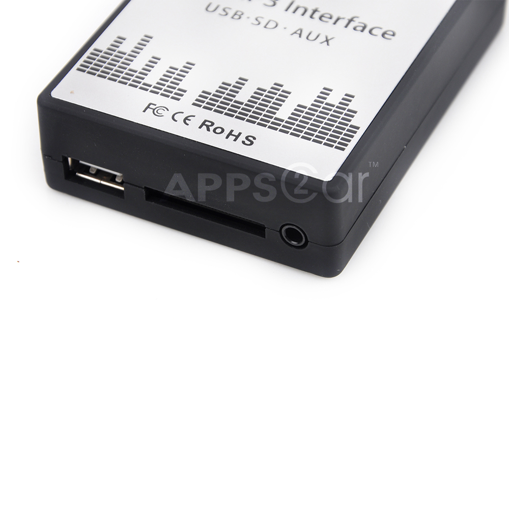 New Product: Car Mp3 Interface Usb Sd Card Aux Adapter For 05-10 ...