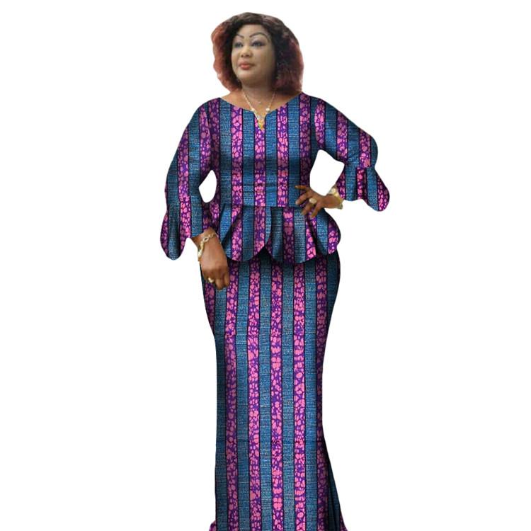 Nueva moda hecho por encargo cera Africana hollandais mujeres falda ...