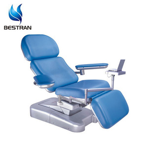 BT-DN001 Hospital Patient Blood Donor Dialysis Bed Medical Electric Adjustable Donation Treatment Chair For Sale