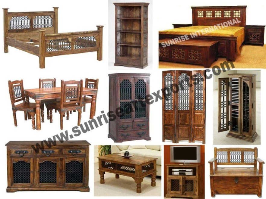 Indian Furniture Wooden Ethnic East Jodhpur Antique