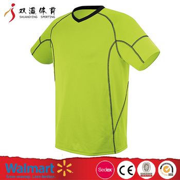 Hot product cheap custom soccer jersey/football jersey,round collar black short sleeve USA football shirt maker football jersey