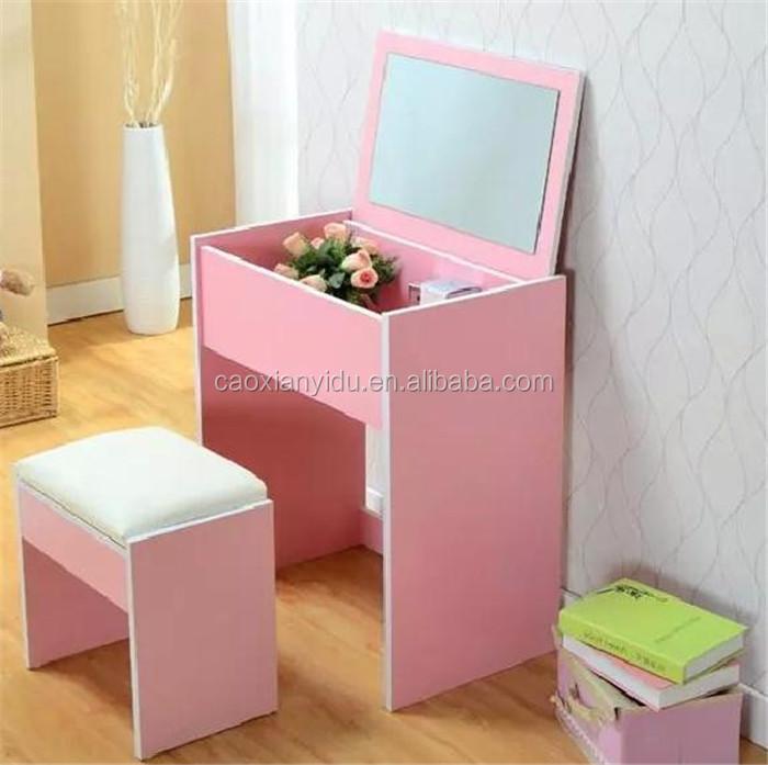 Idee dressoir roze afbeeldingen : Dressing Mode Kleurrijke Make-up Tafel Dressoir Kast Combinatie ...