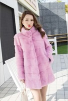 Fashion fresh mink coat for women/Generous nice mink coat /Real mink coat from China