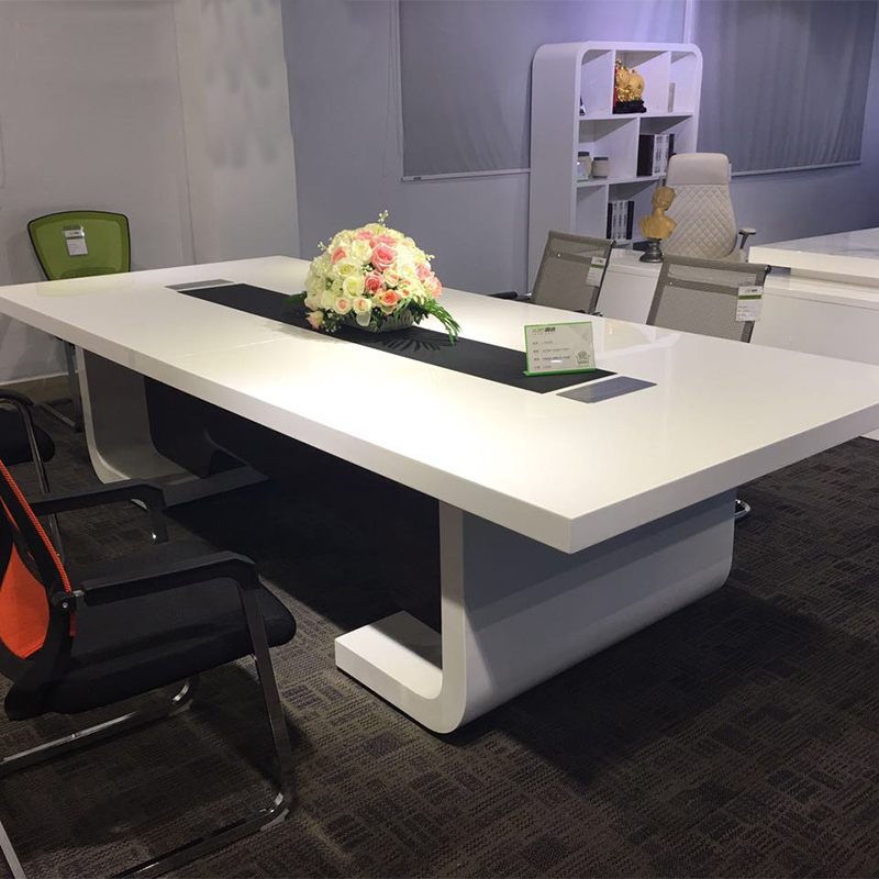 fashion conference table legs luxury Square office conference table and chairs