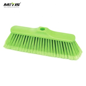 METIS cheap Trade Assurance High Quality Plastic Soft Bristle Broom Head