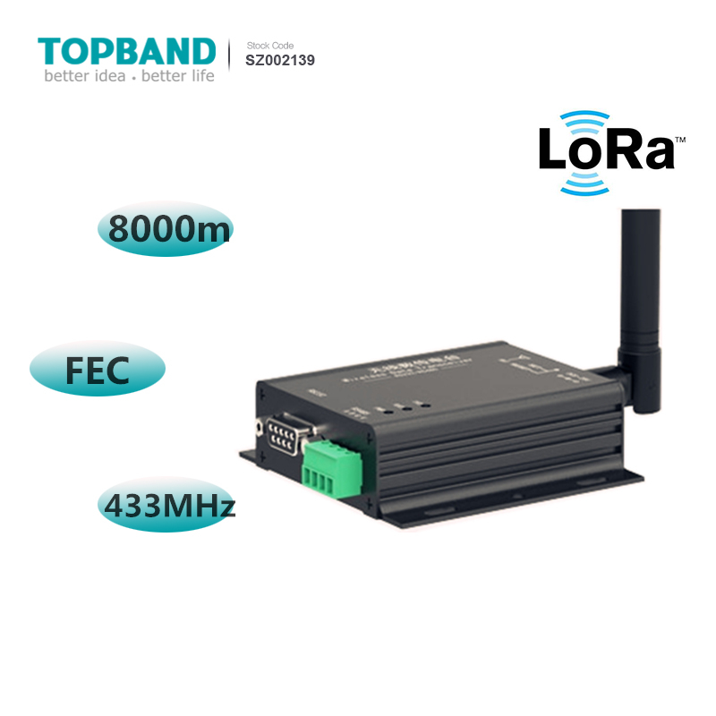 Rf Dtu Transceiver 8km Fec Wireless Uhf Module Iot Devices Lora Dtu 433mhz  Sx1278 Rs485 Rs232 Interface - Buy Iot Devices,Lora Module,Sx1278 Product