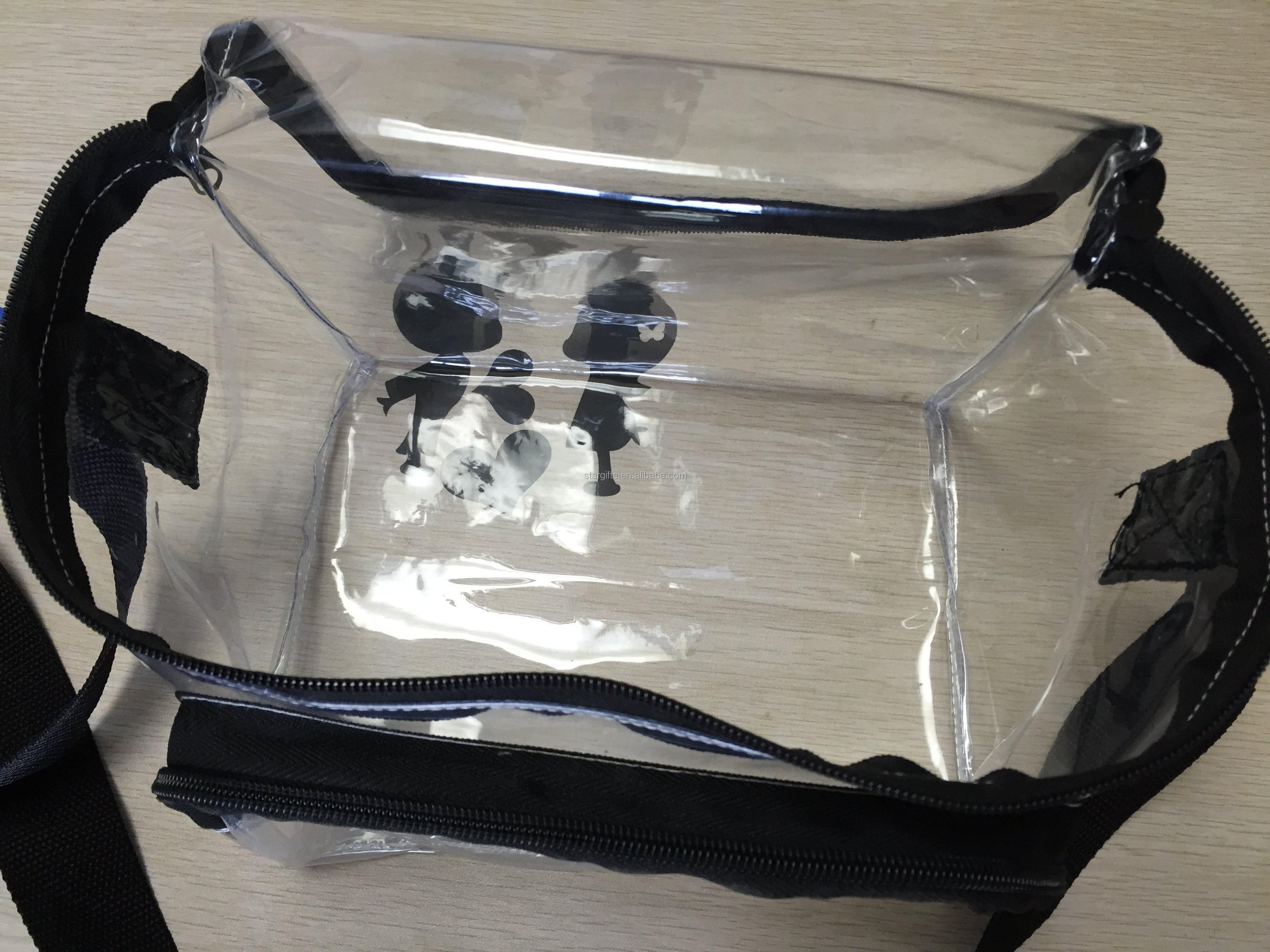 Alibaba China transparent lunch box clear pvc wine cooler bag