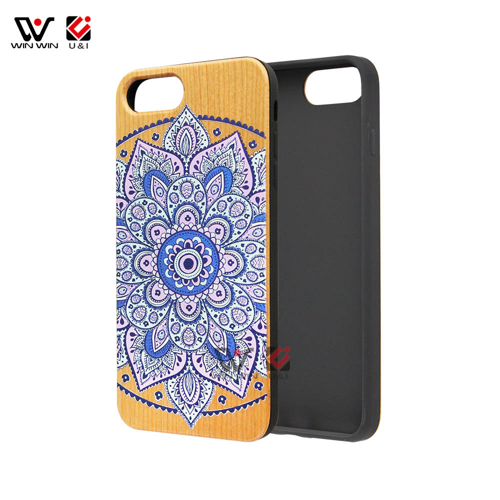 Retail Package Dongguan Mobile Phone Accessories Factory In China Natural Wood Phone Case