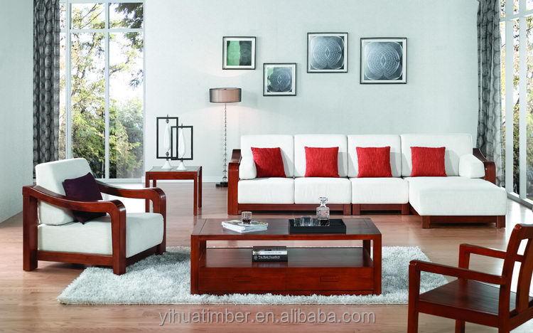 Sofas madera for Muebles modernos para living