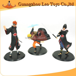 Custom Japanese Anime Action Naruto Plastic Miniature Human Figure