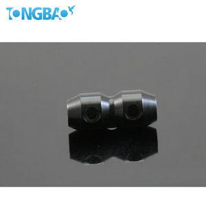 Durable using racing kart coaxial zinc alloy cable clamp with cover
