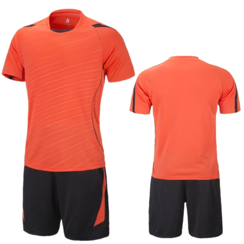 2798ba16c Get Quotations · 2015 16 Men s Blank Soccer Jersey Set Kids Football  Short-sleeve Jersey Paintless Training