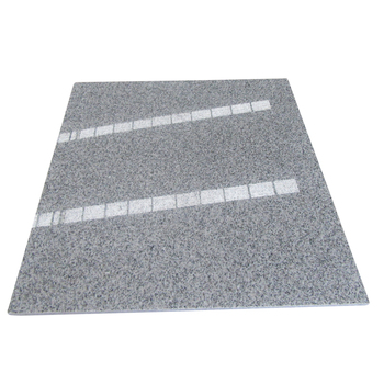 Polished G603 Light Grey White Granite Floor Tiles for Project