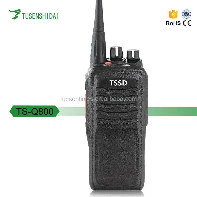 Long Range 10W DMR radio TS-Q800 Single Band vhf/uhf Digital 2 Way Radio Walkie Talkie