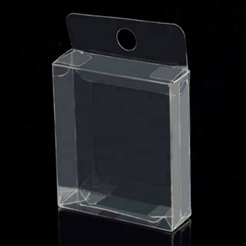 Custom Made Clear Transparent PVC Plastic Blister Clamshell Boxes