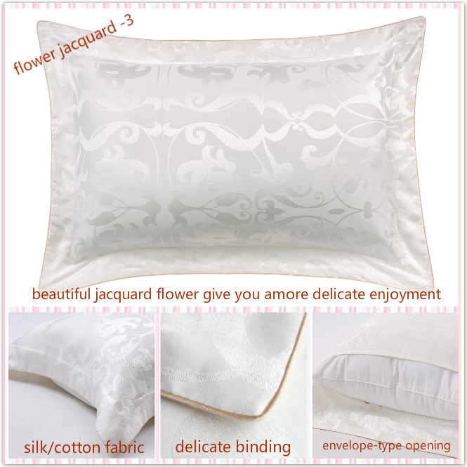 Taihu Snow Silk Pillow Jacquard Pure Dyed 16mm 19mm 22mm